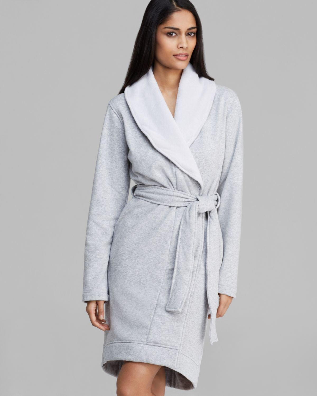 ugg australia lounge blanche robe. Black Bedroom Furniture Sets. Home Design Ideas