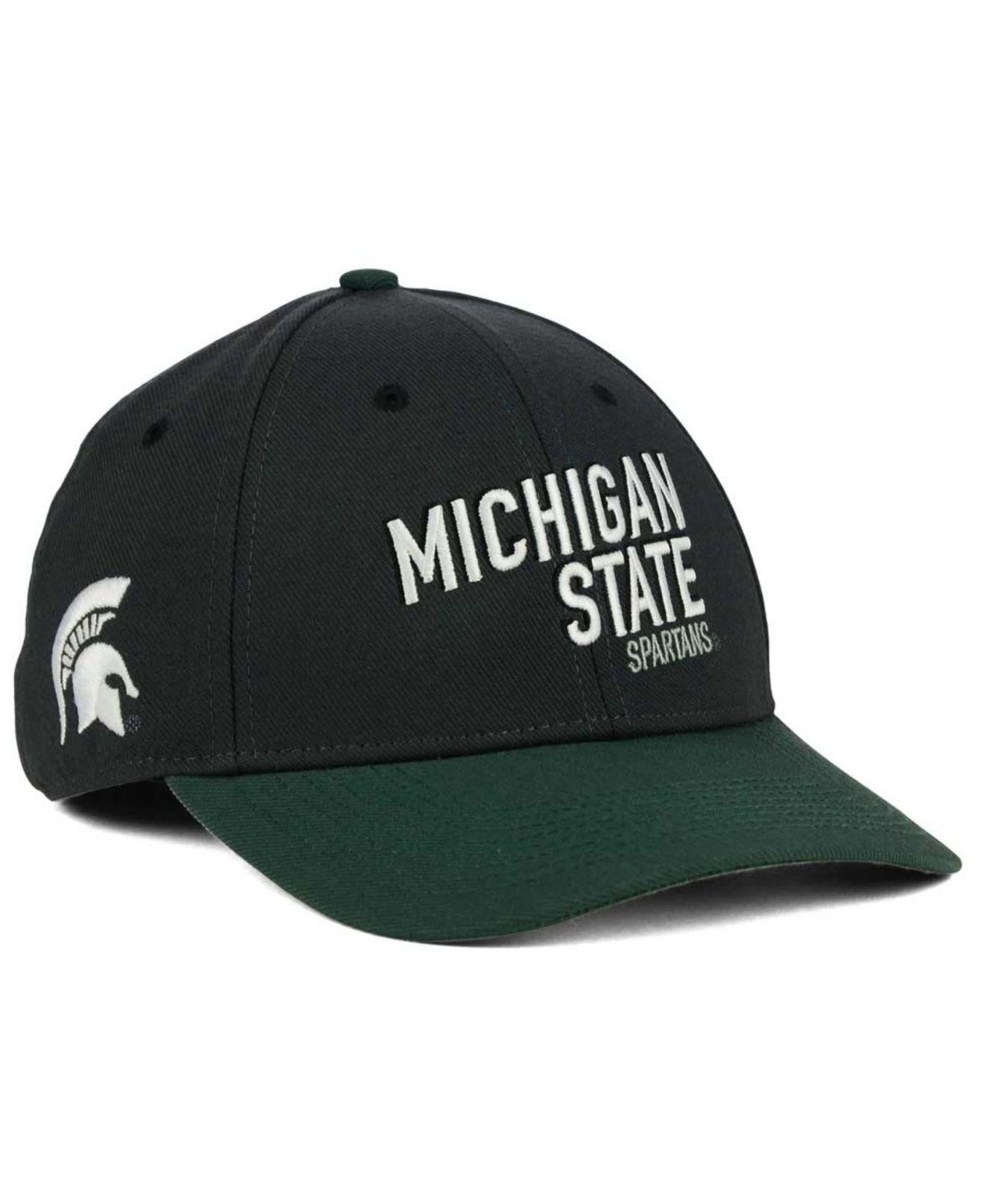 check out 7a085 90277 ... coupon for lyst nike michigan state spartans l91 swooshflex cap in gray  for men 2d1ba e8c48