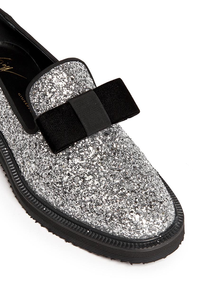 Giuseppe ZanottiGlitter loafers