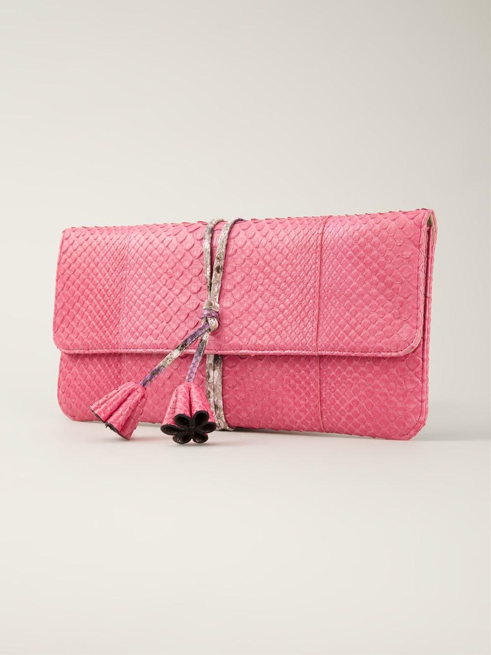 a5fa88db268 Jill Haber  Jimmy  Clutch Bag in Pink - Lyst