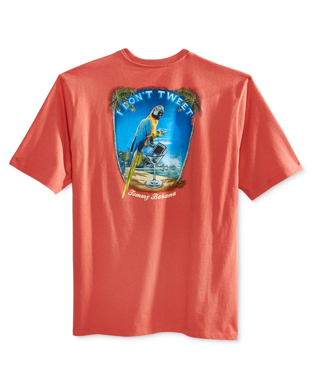 Tommy Bahama Men 39 S I Don 39 T Tweet T Shirt In Red For Men Lyst