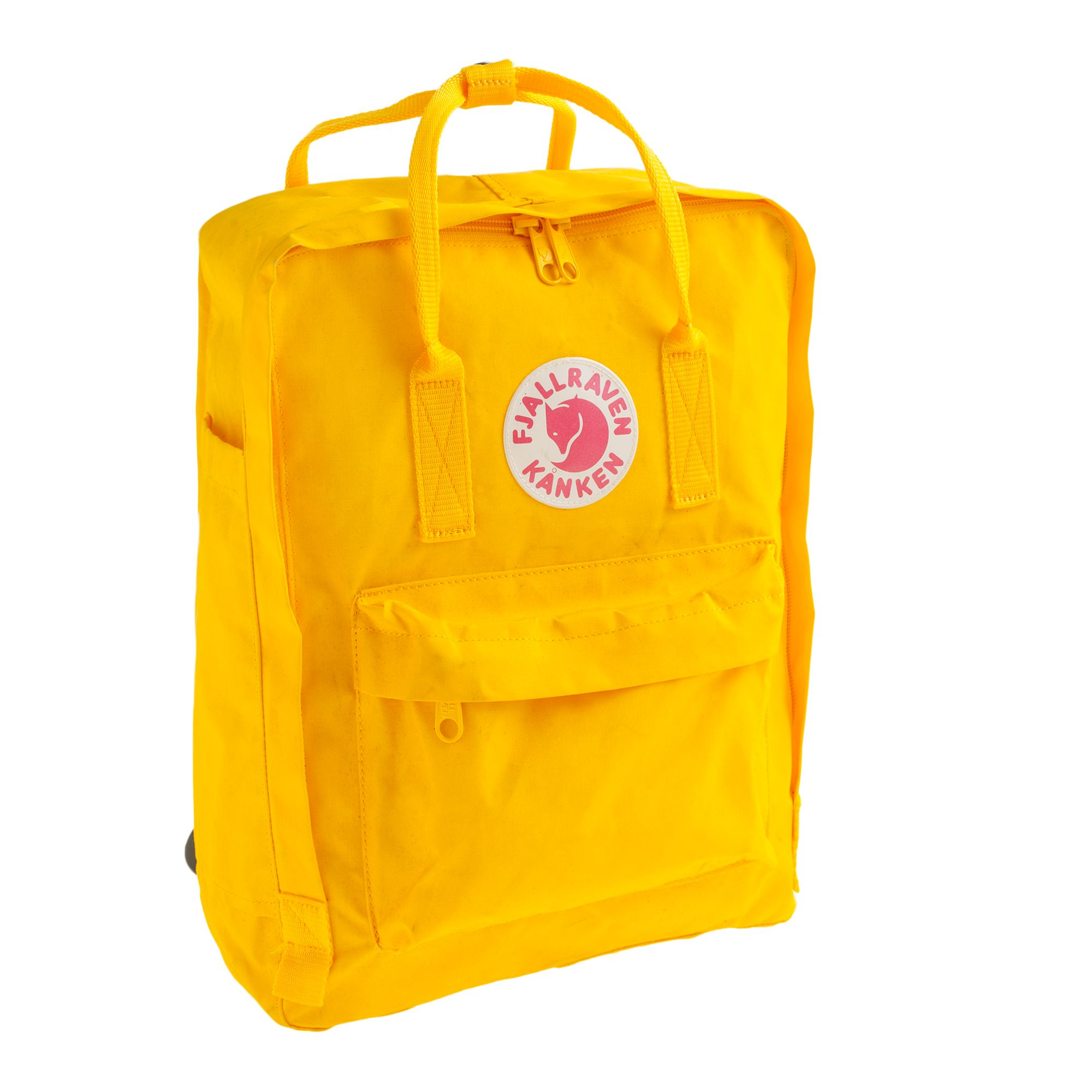J Crew Fj 228 Llr 228 Ven 174 Classic Kanken Backpack In Yellow For