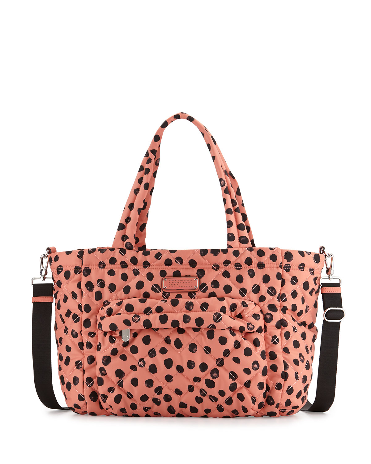 marc by marc jacobs elizababy crosby dee lite dot diaper bag in pink lyst. Black Bedroom Furniture Sets. Home Design Ideas