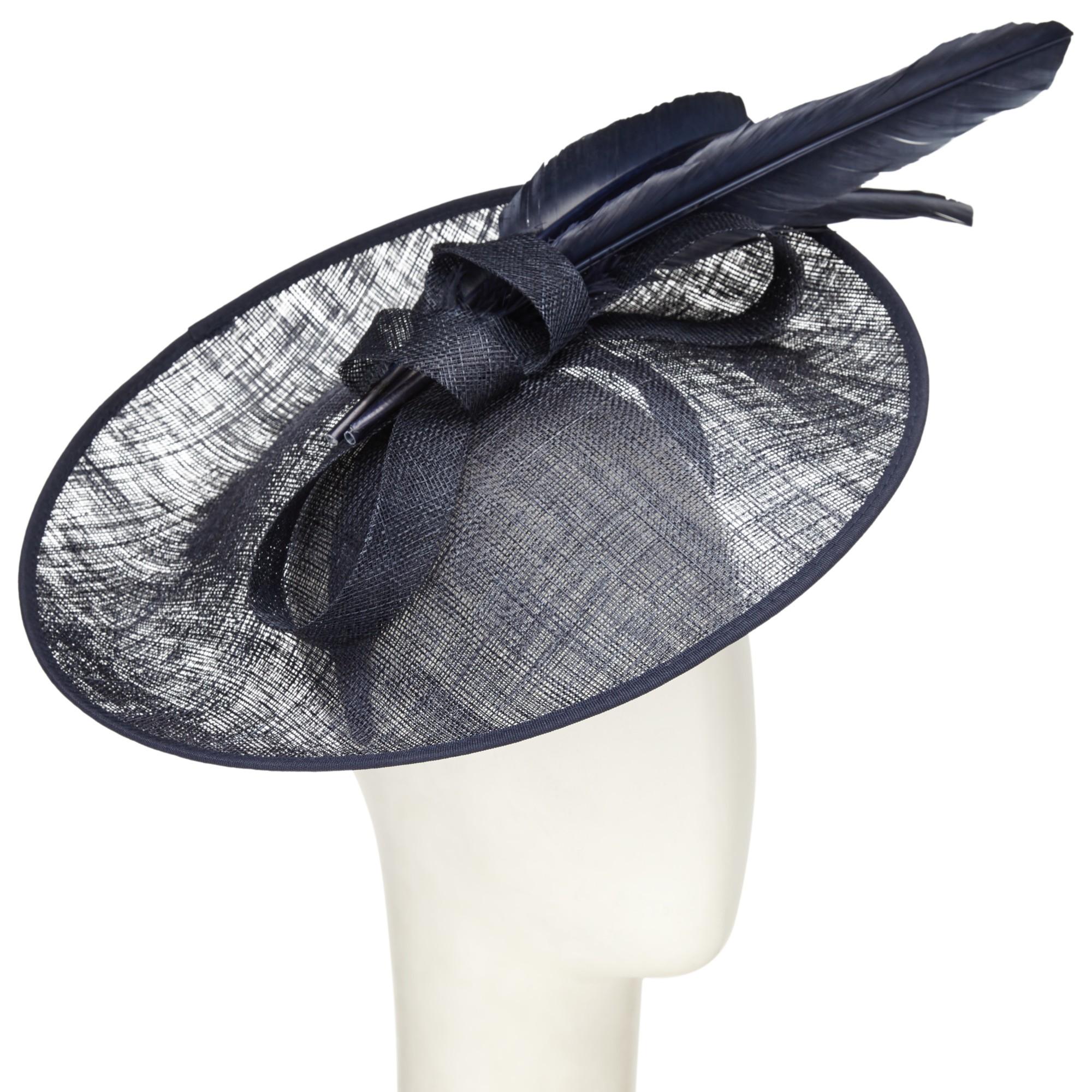 2f74bb9c802 John Lewis Jena Upturn Disc Occasion Hat in Blue - Lyst