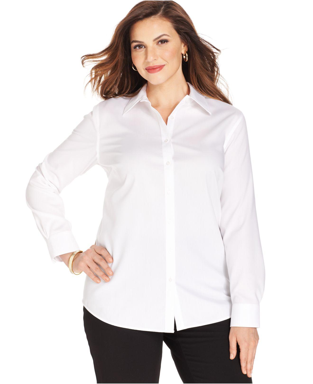 Jones and jones dress white shirts