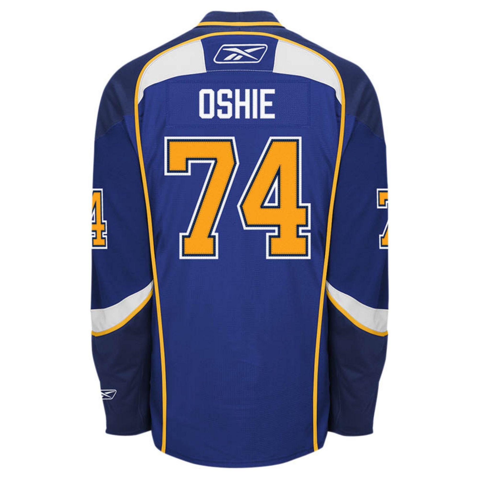 d3dc3ff53abd Lyst - Reebok Mens Tj Oshie St Louis Blues Premier Jersey in Blue ...