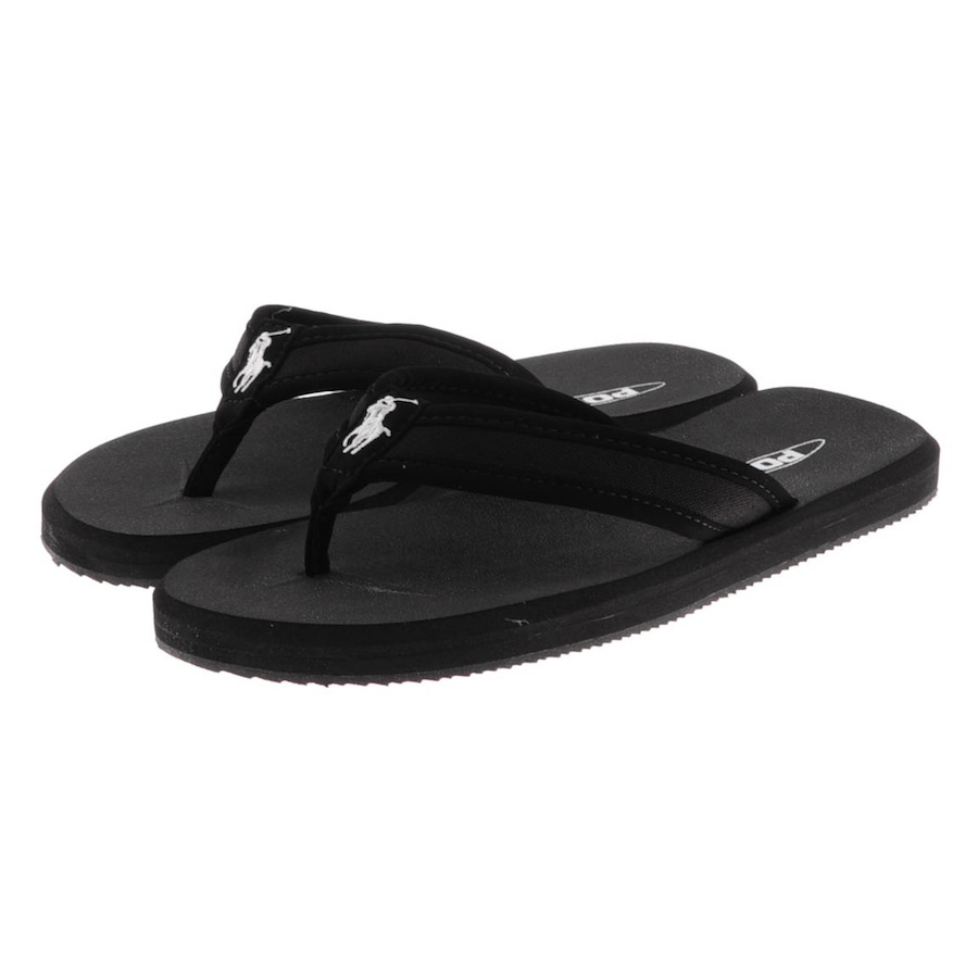 fc11a3332ab Ralph Lauren Almer Ii Ne Flip Flops in Black for Men - Lyst