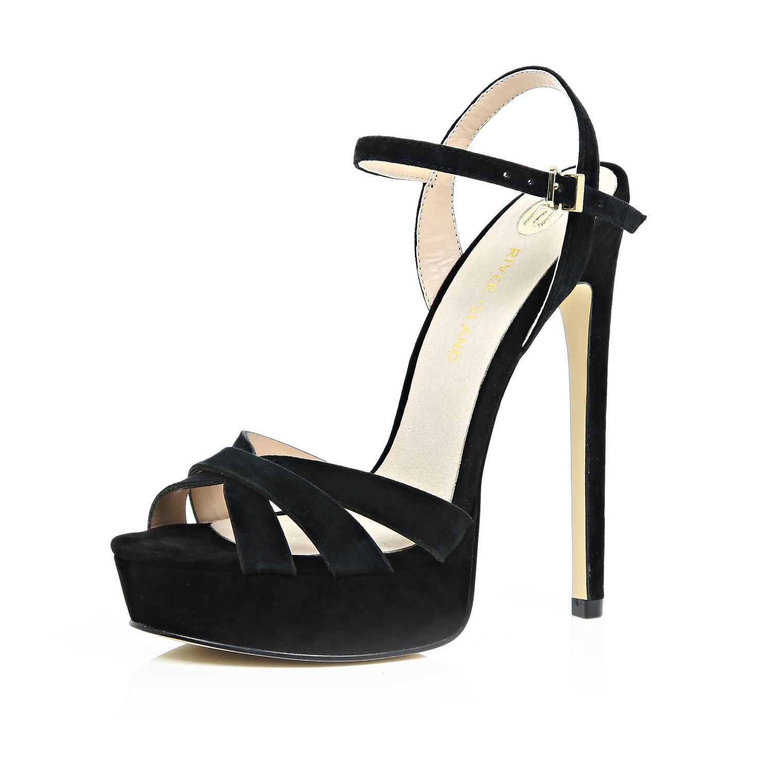 River Island Black Stilettos clearance with paypal xvp9Bb