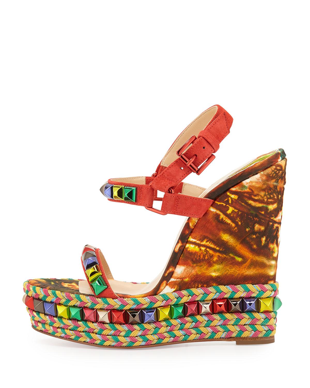 louboutin Espadrilles & Sandals Multicolore