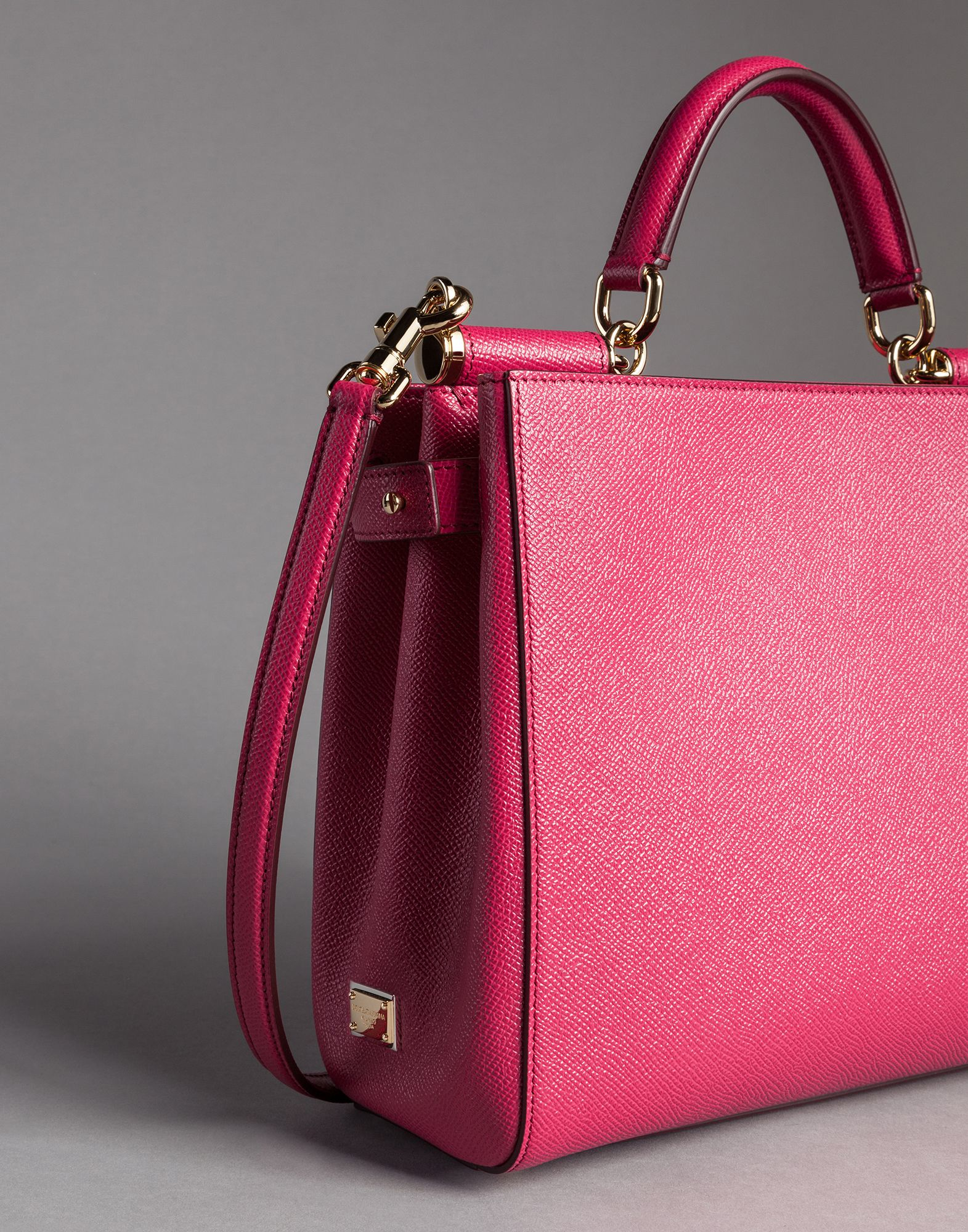 Dolce Soft mini tote bag - Pink & Purple Dolce & Gabbana 7migmi8XCY