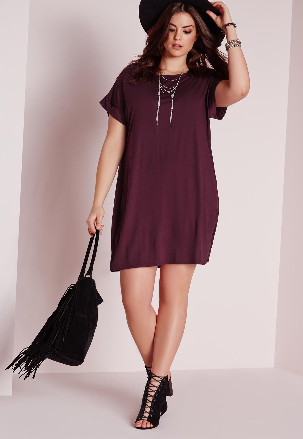 Tee Shirt Dresses Plus Size - DREAMWORKS