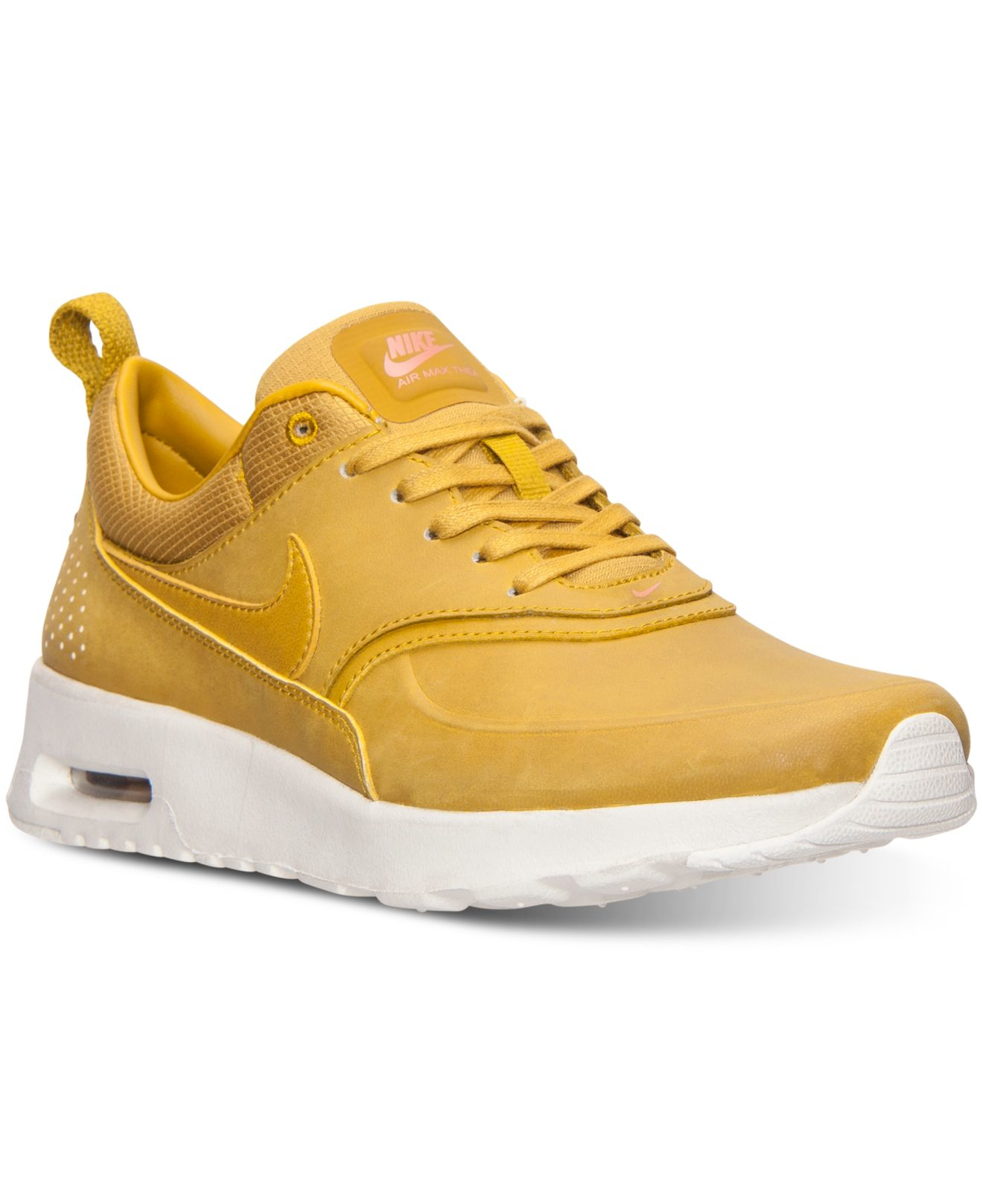 b616ad8c57 Nike Women's Air Max Thea Premium Running Sneakers From Finish Line ...