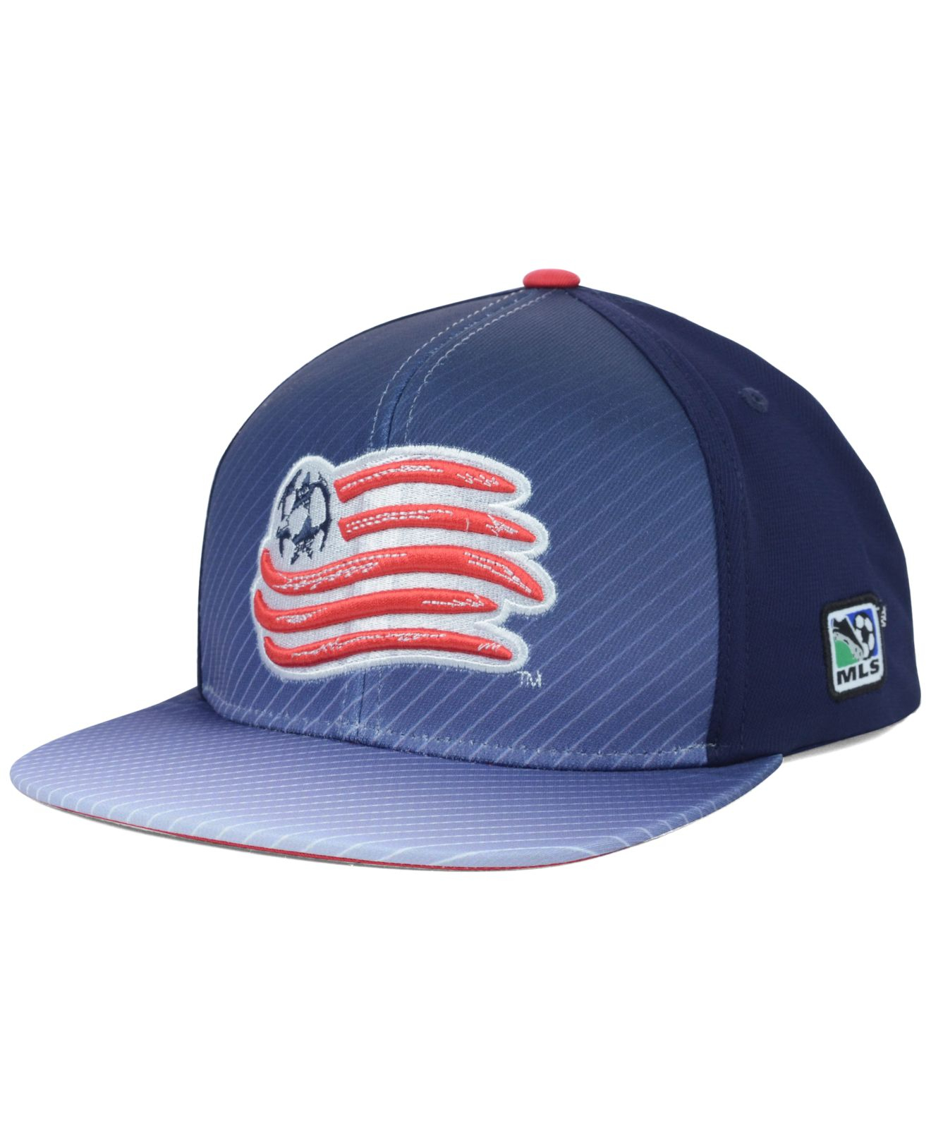 wholesale dealer 1a4ba f8501 adidas New England Revolution Mls Player Snapback Cap in Blue for ...