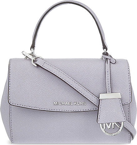 c74b4ae07f14 MICHAEL Michael Kors Ava Leather Xs Cross-body Bag in Purple - Lyst