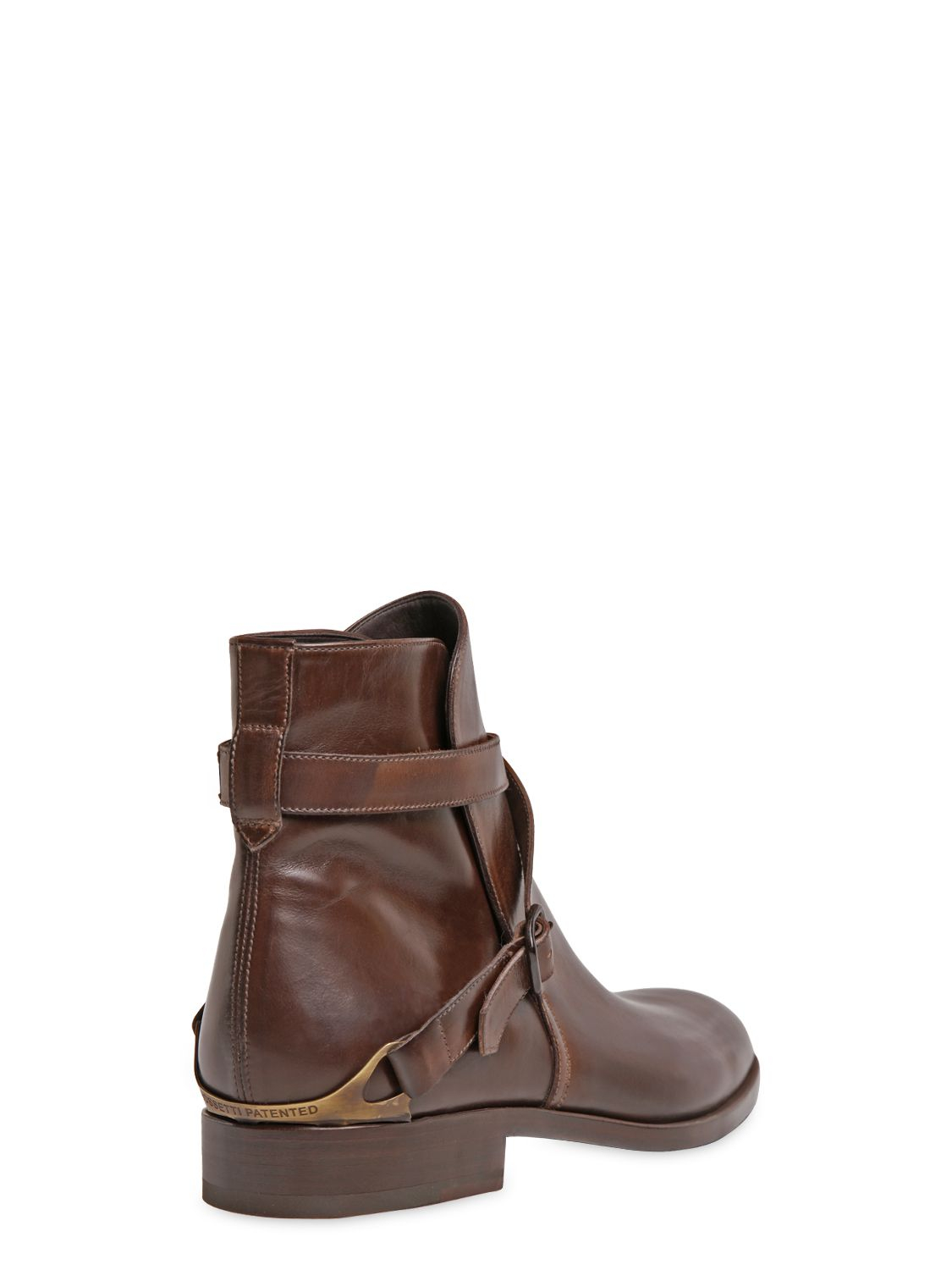 Lyst Fratelli Rossetti Hand Painted Leather Ankle Boots