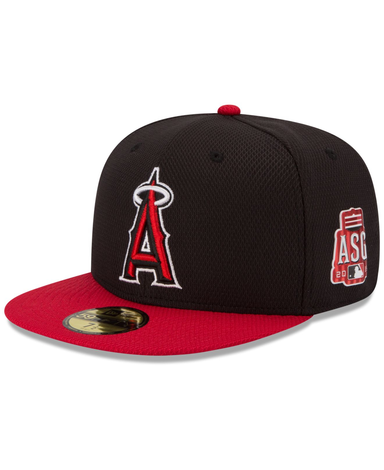 new product a2768 72cd8 KTZ Los Angeles Angels Of Anaheim 2015 Home Run Derby 59Fifty Cap in ...