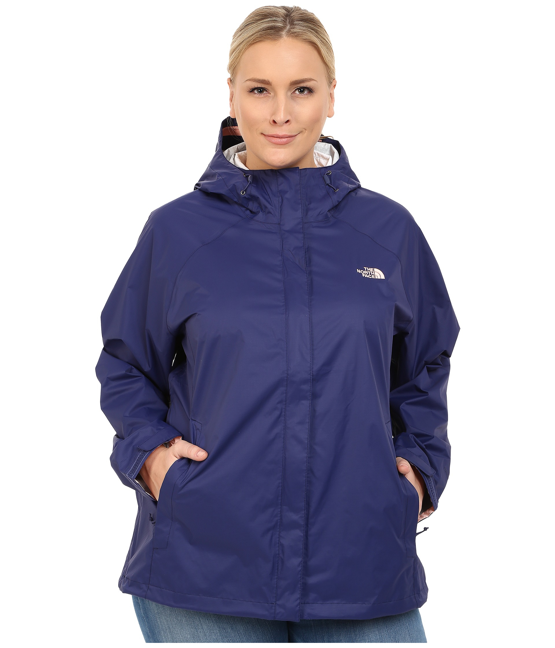3986eca39128 ... purchase lyst the north face venture jacket in blue d9b5e 31784