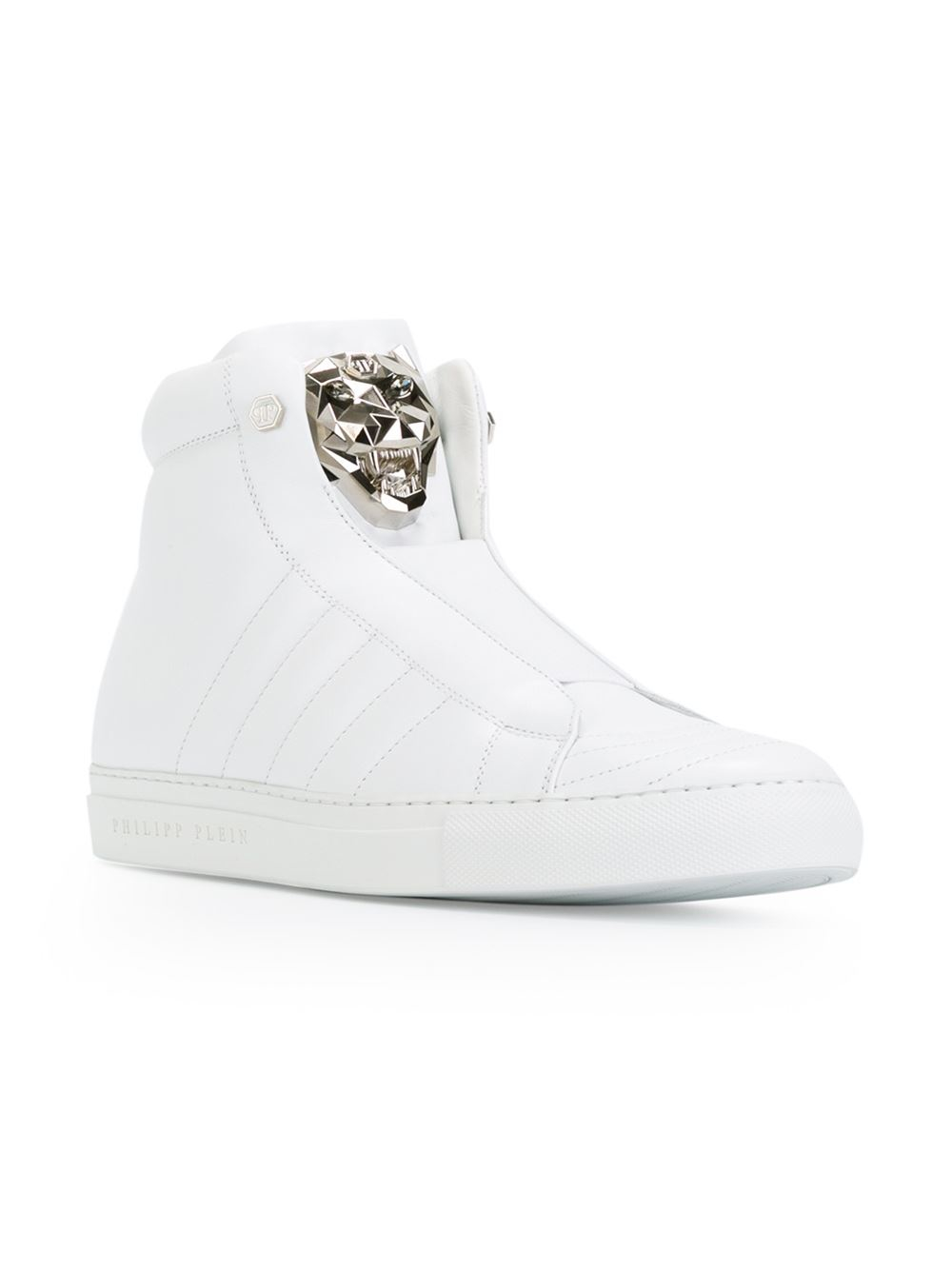 Baskets Basses Philipp Plein Haut - Blanc 4cRk0
