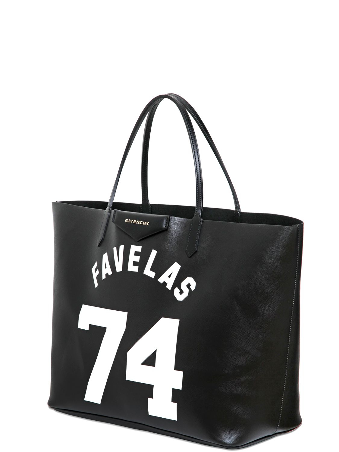 Lyst Givenchy Large Antigona Coated Canvas Tote Bag In Black