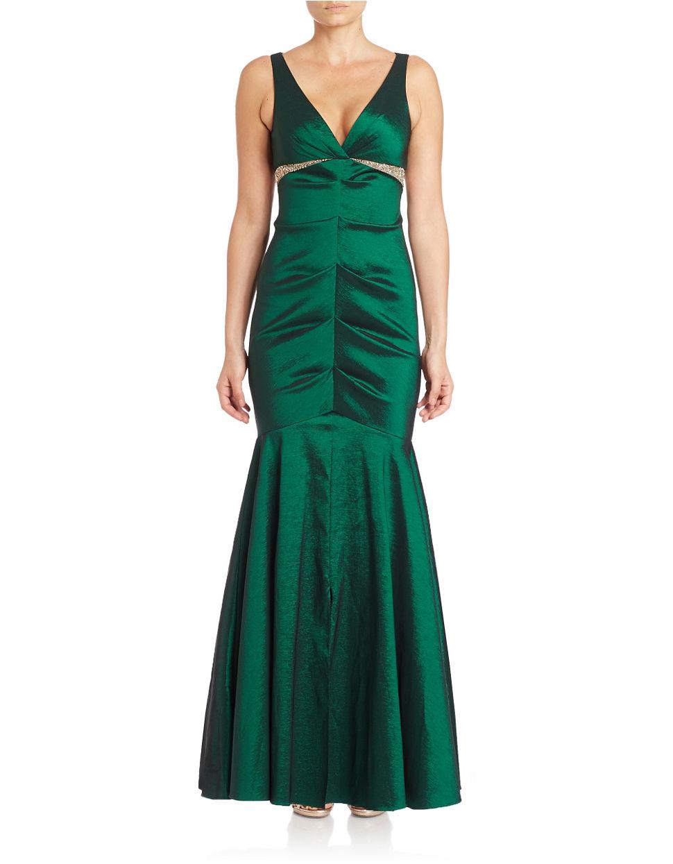 Xscape Dresses Green