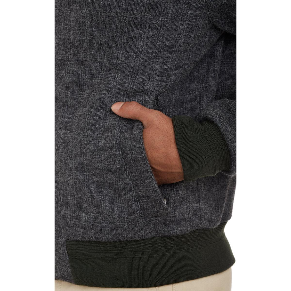 Lyst - Façonnable Plaid-Pattern Flannel Blouson in Black for Men 95870996cab1
