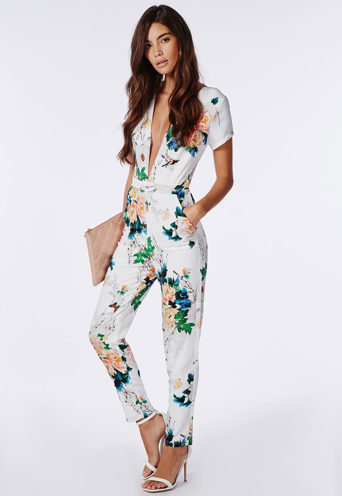 9 Best Amp Colorful Floral Jumpsuits For Women Styles At Life