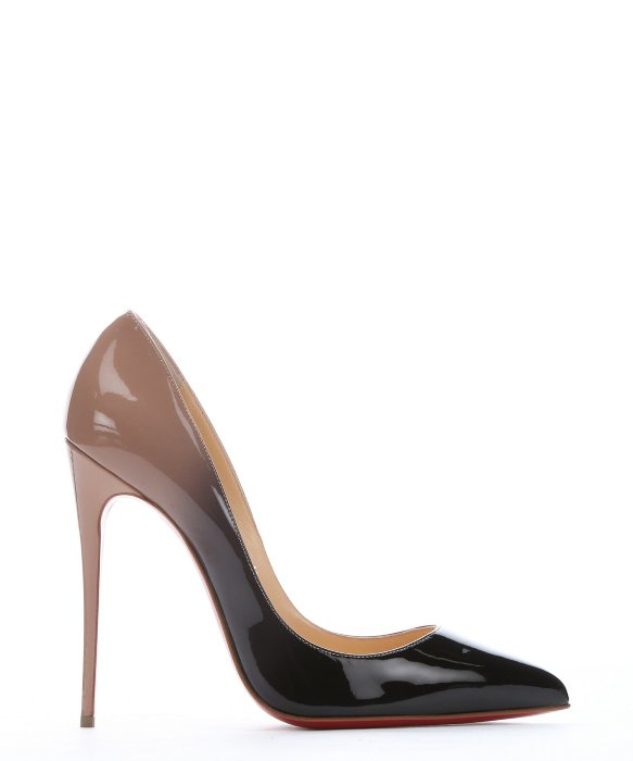 Artesur ? christian louboutin Pigalle pumps Nude and black patent ...