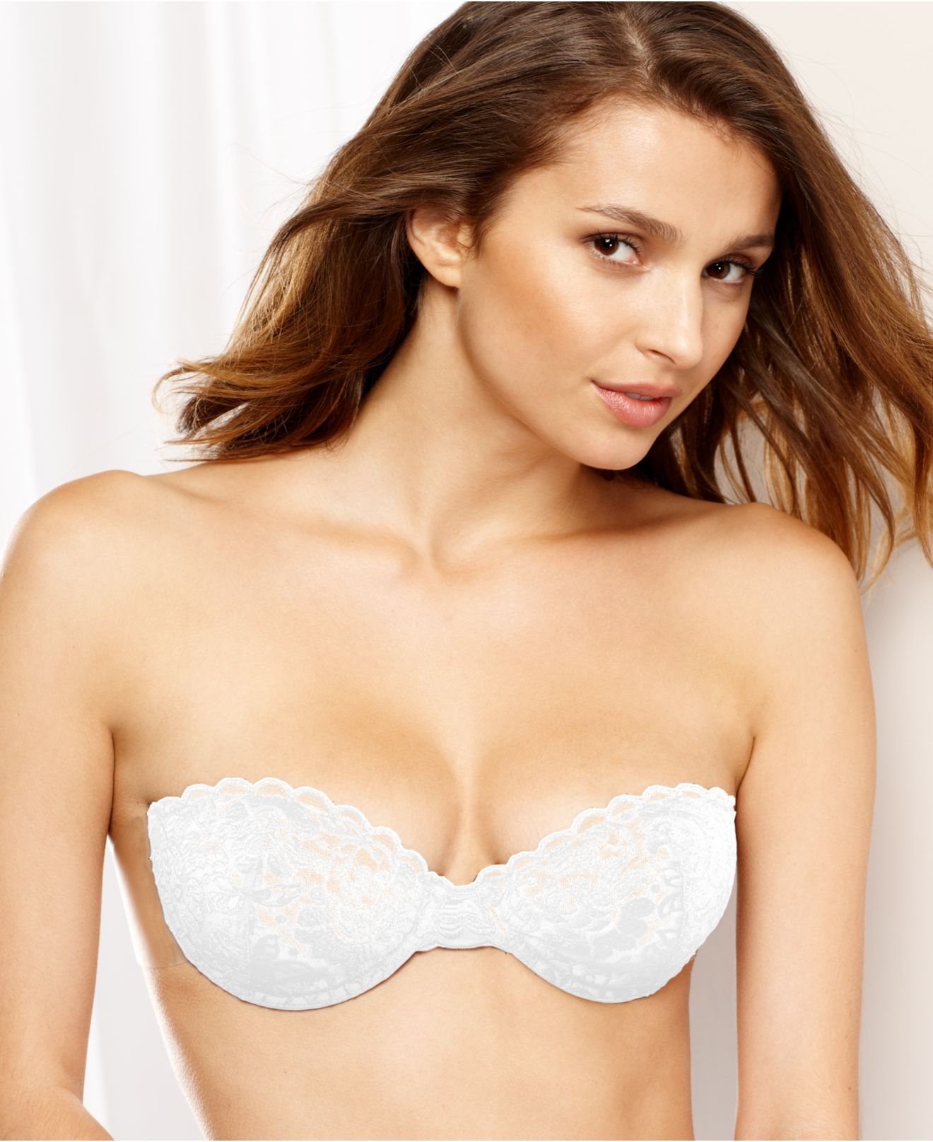ccd32d96031 Fashion Forms Lace Backless Strapless Bra Mc638 in White - Lyst