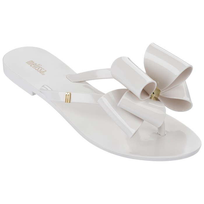 Lyst - Melissa Harmonic Rubber Sandals in White