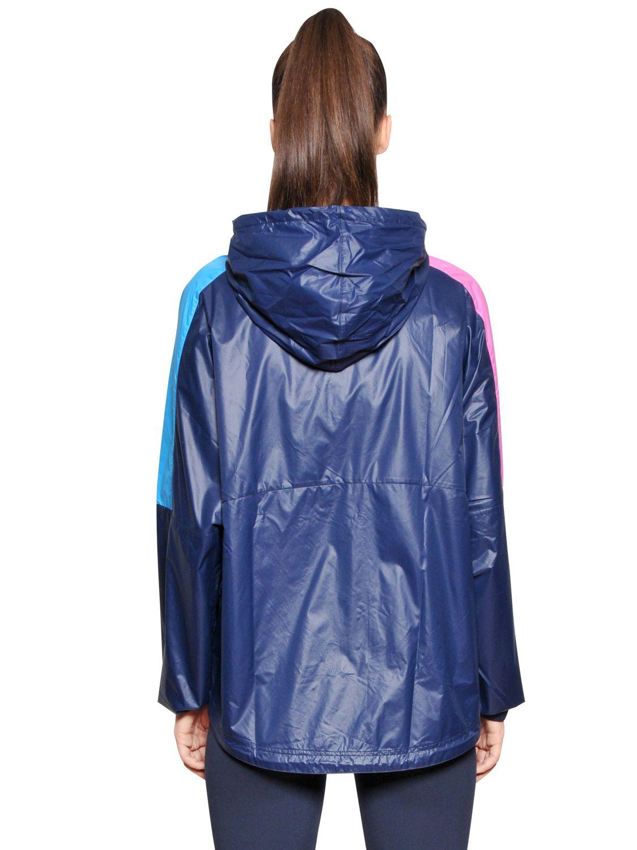 Lyst Reebok Printed Nylon Amp Microfiber Track Suit In Blue