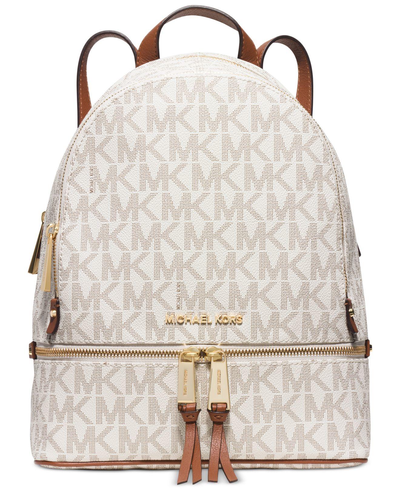 Lyst - Michael Kors Rhea Zip Medium Backpack - Save 44%