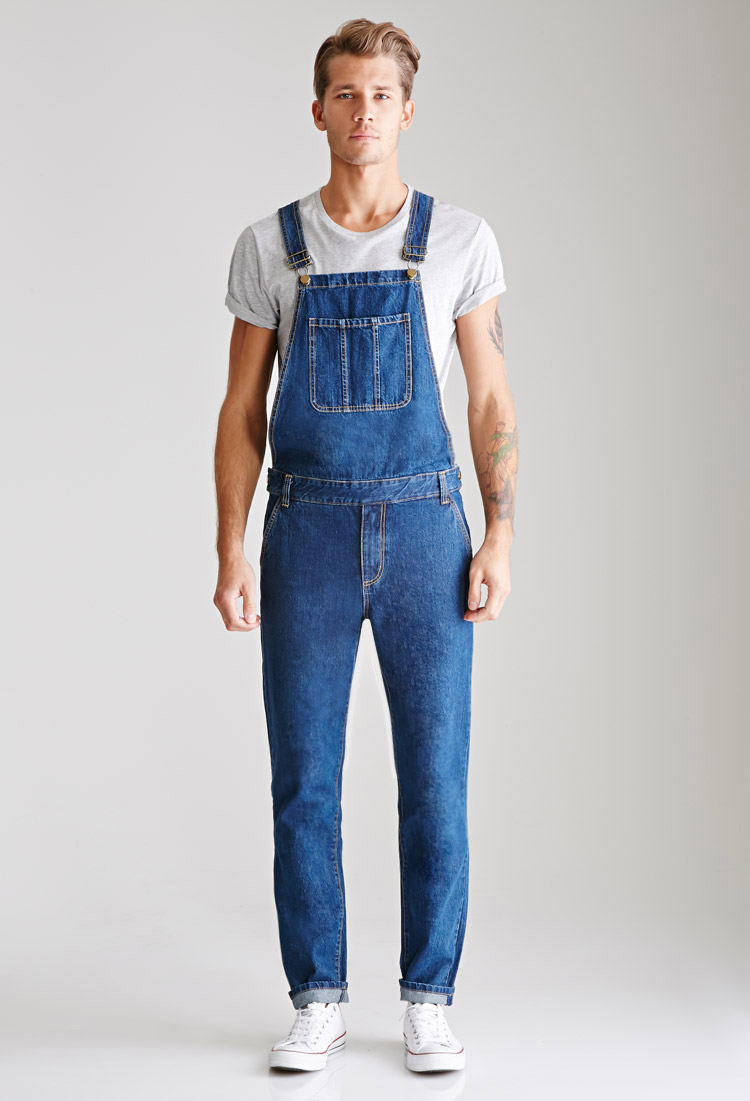 Fashion Men's Camo Slim Fit Pants Suspender Trousers Overalls Skinny Jeans Vogue $ DICKIES NB MENS OVERALLS BIB DENIM INDIGO OVERALL RINSE BLUE AUTHENTIC WORK.