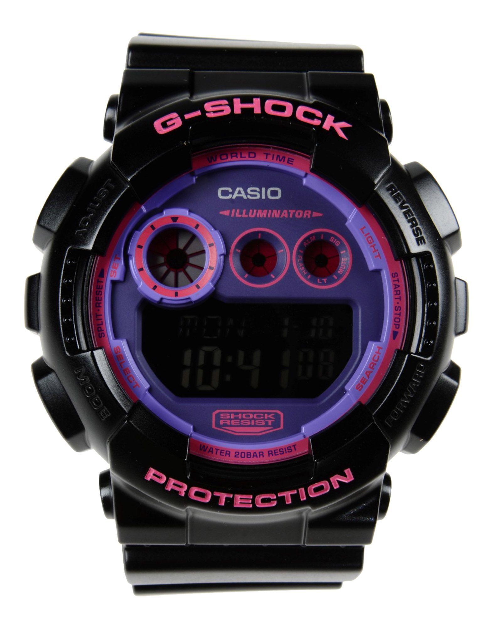 G-shock Wrist Watch in Black for Men