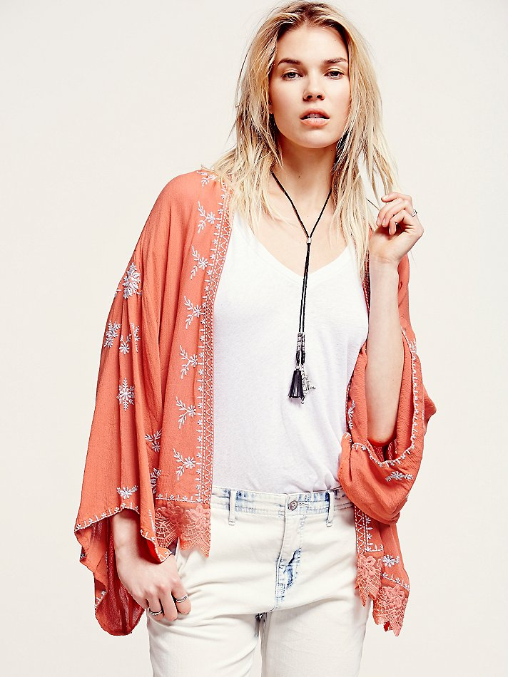 Find kimono jacket at ShopStyle. Shop the latest collection of kimono jacket from the most popular stores - all in one place. Kimono Jackets For Women Sayuri Dot Print Silk Kimono Jacket - Womens - Red White £ £ Get a Sale Alert at Anthropologie Just Female Tropical-Print Kimono Jacket £ £ Get a Sale Alert at ASOS Lily.
