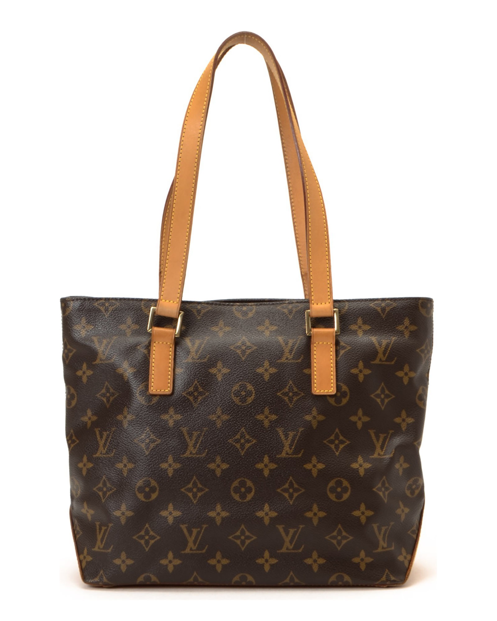 Louis vuitton tote bag vintage in brown lyst for Louis vuitton miroir bags