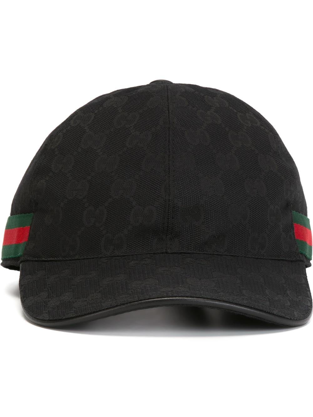 1741bd0050b Gucci Canvas Baseball Hat - Hat HD Image Ukjugs.Org