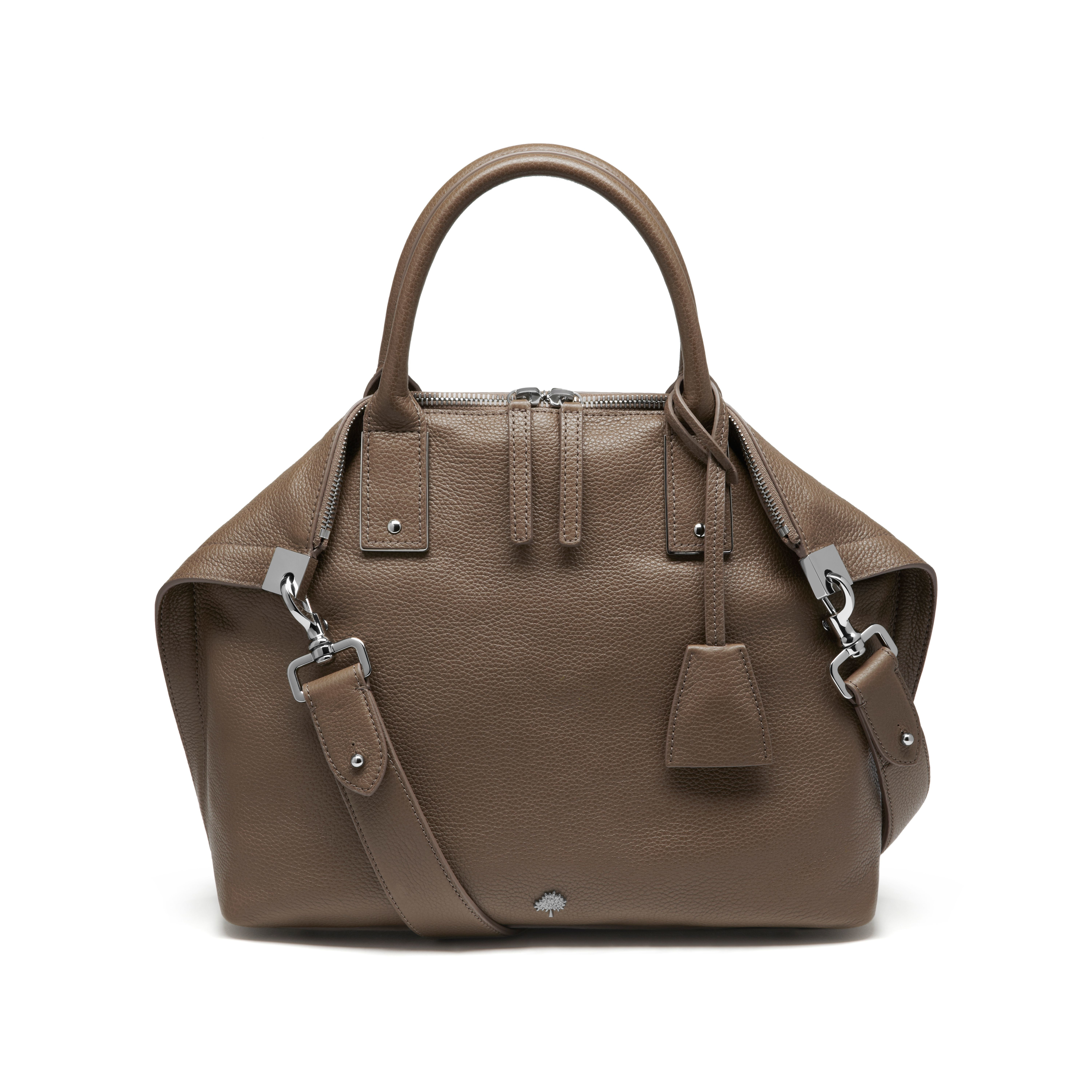 Mulberry Small Alice Zipped Tote in Brown - Lyst 5d1e615ef0f08