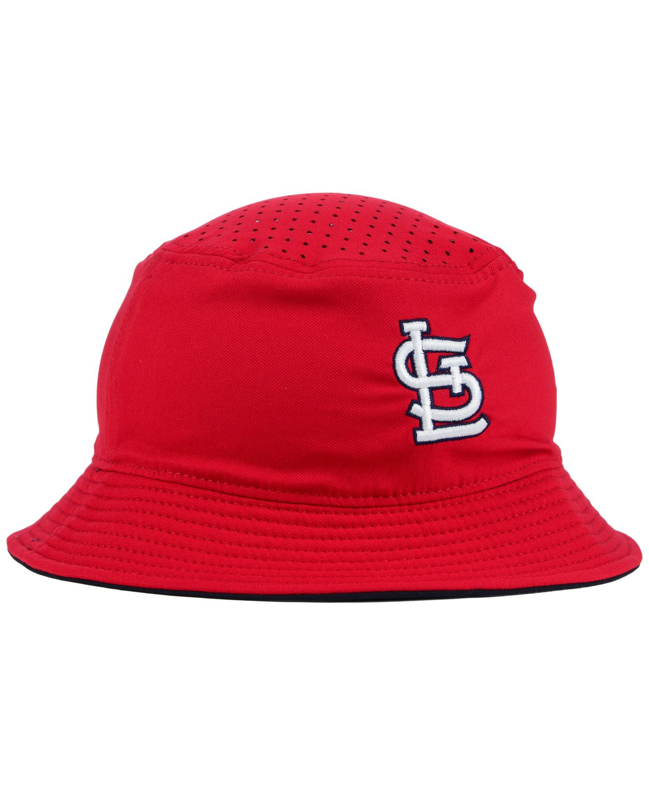 cd2e7cf4929b5 czech spain lyst nike st. louis cardinals vapor dri fit bucket hat in red  for