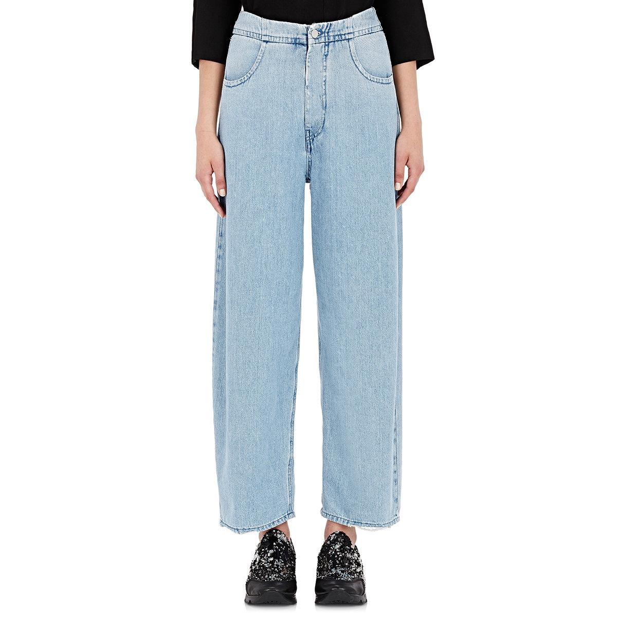 high-waist flared trousers - Blue Maison Martin Margiela aXOytS