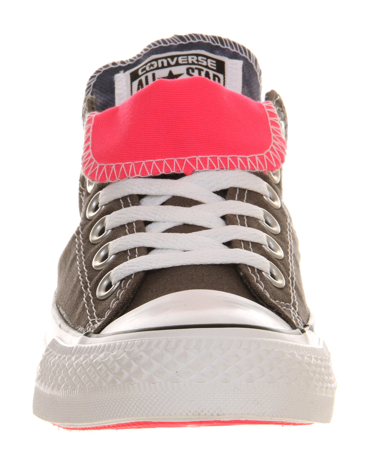 08ab291bcdbc6e Lyst - Converse Allstar Low Double Tongue in Gray