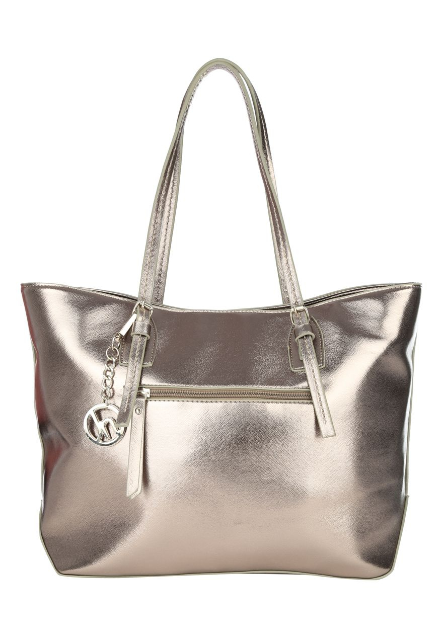 Jane Norman Metallic Tote Bag in Metallic - Lyst 0a748c3d36754