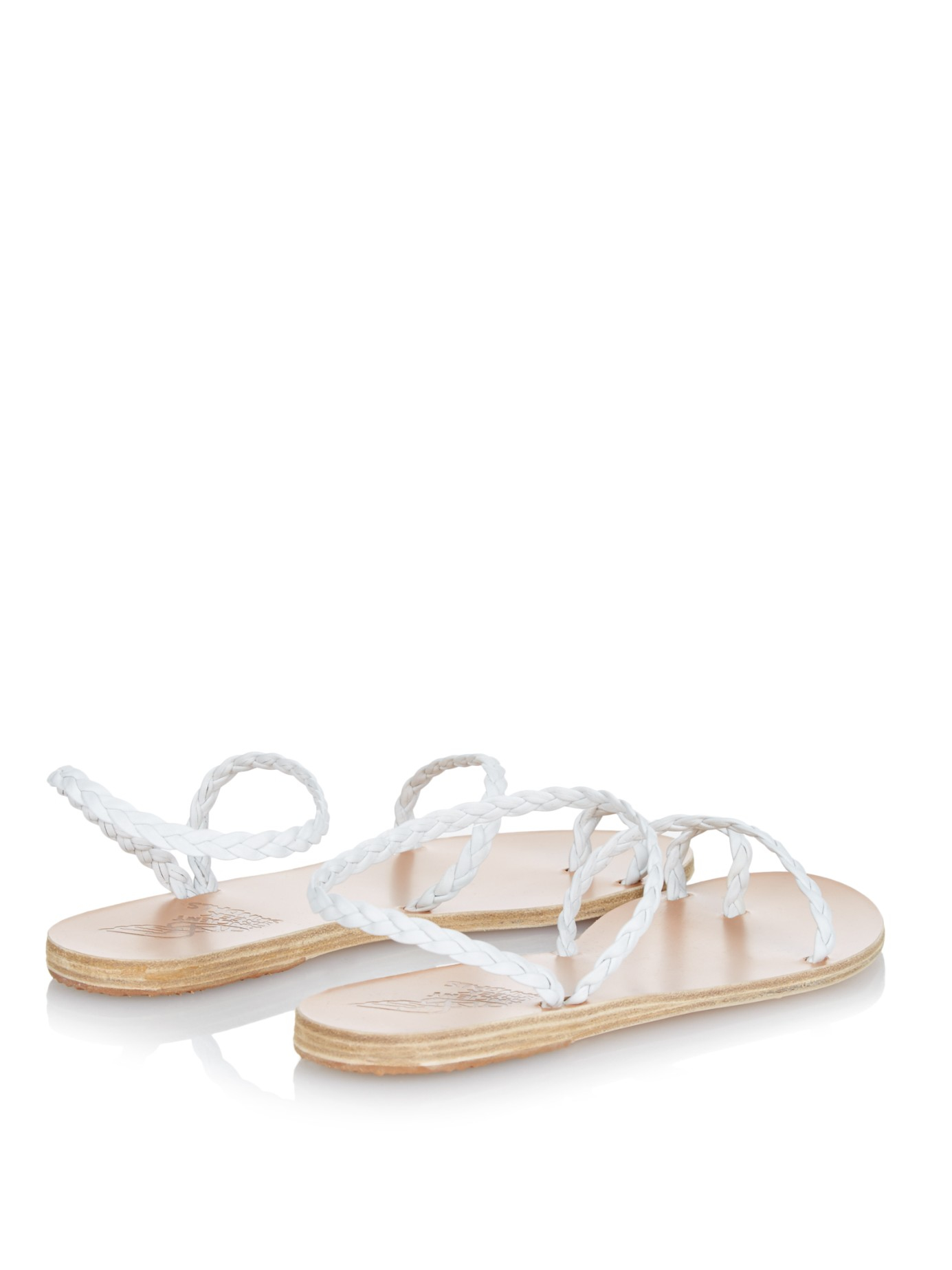 Ancient Greek Sandals Eleftheria Braided Nappa Leather Sandals Gn5IedVLfs