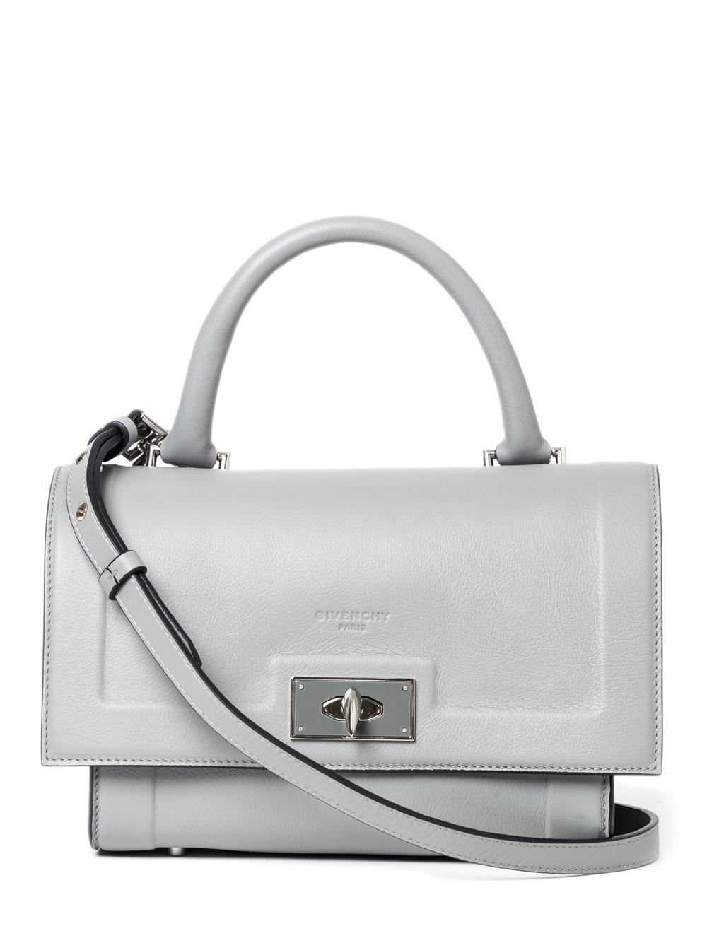 a3dd981fcd92 Lyst - Givenchy Mini Shark Bag in Gray