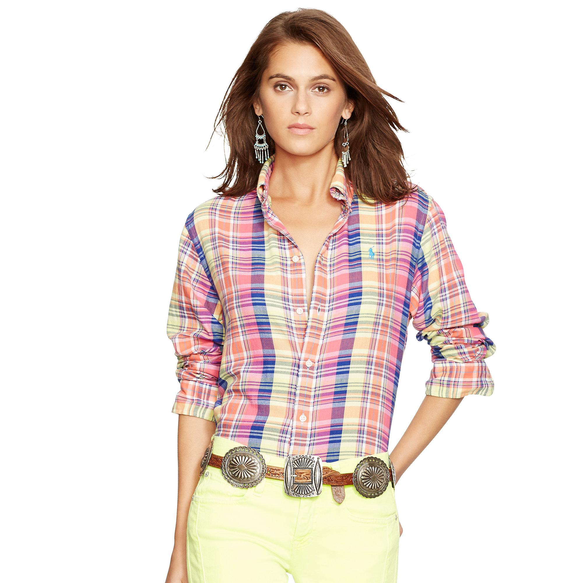 Button Down WomensAzərbaycan Dillər Ralph Shirts Polo Lauren 5Fu31cTlKJ