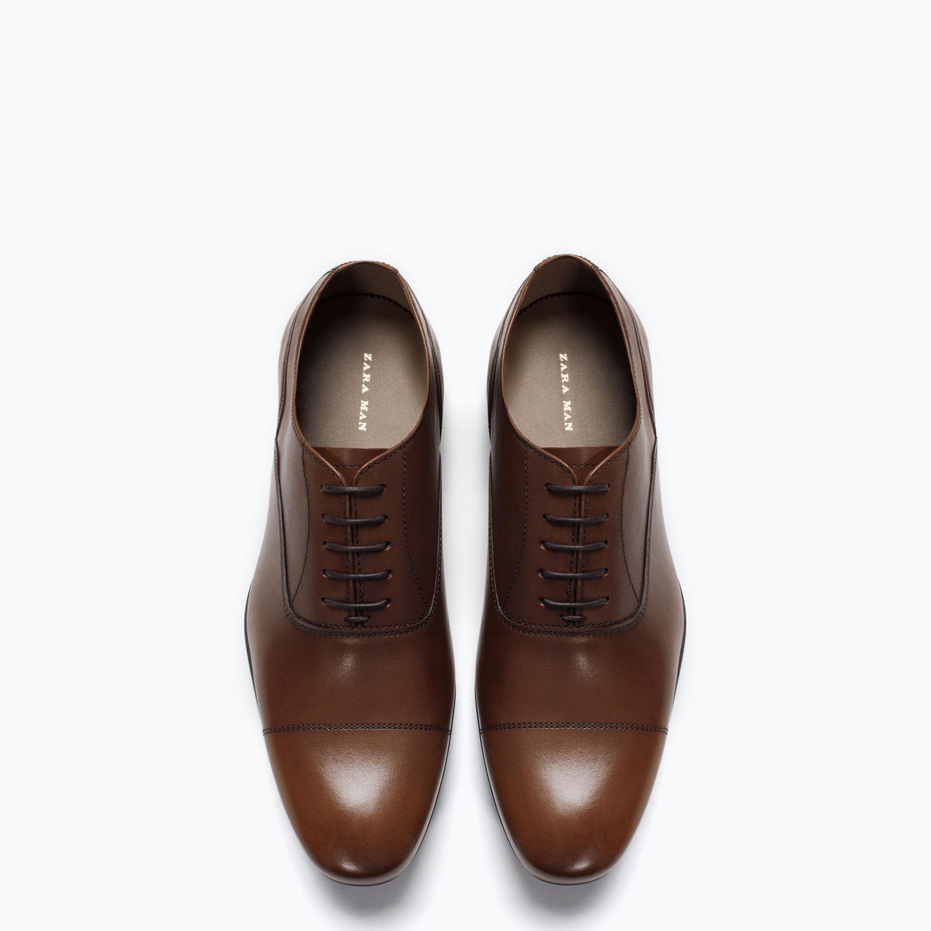 Zara Women S Oxford Shoes
