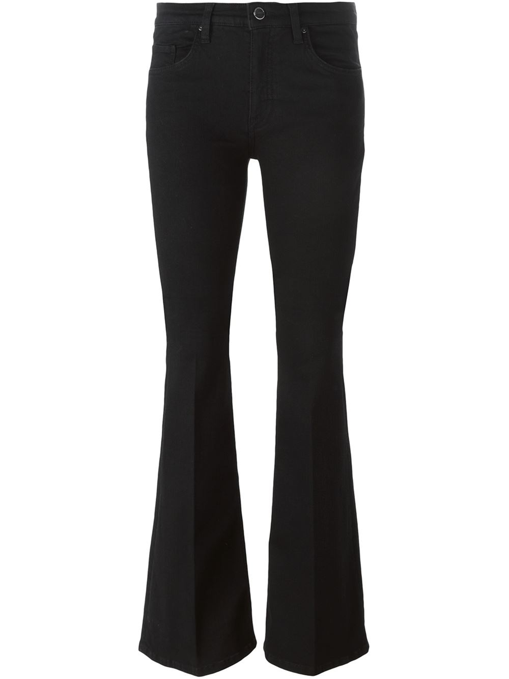 victoria beckham flared jeans in black lyst. Black Bedroom Furniture Sets. Home Design Ideas