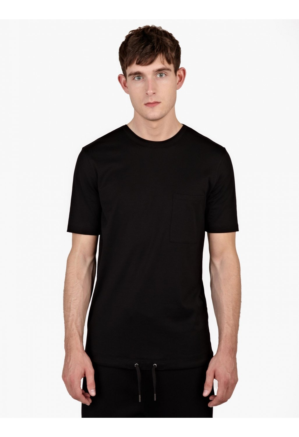 helmut lang knitted t shirt in black for men lyst