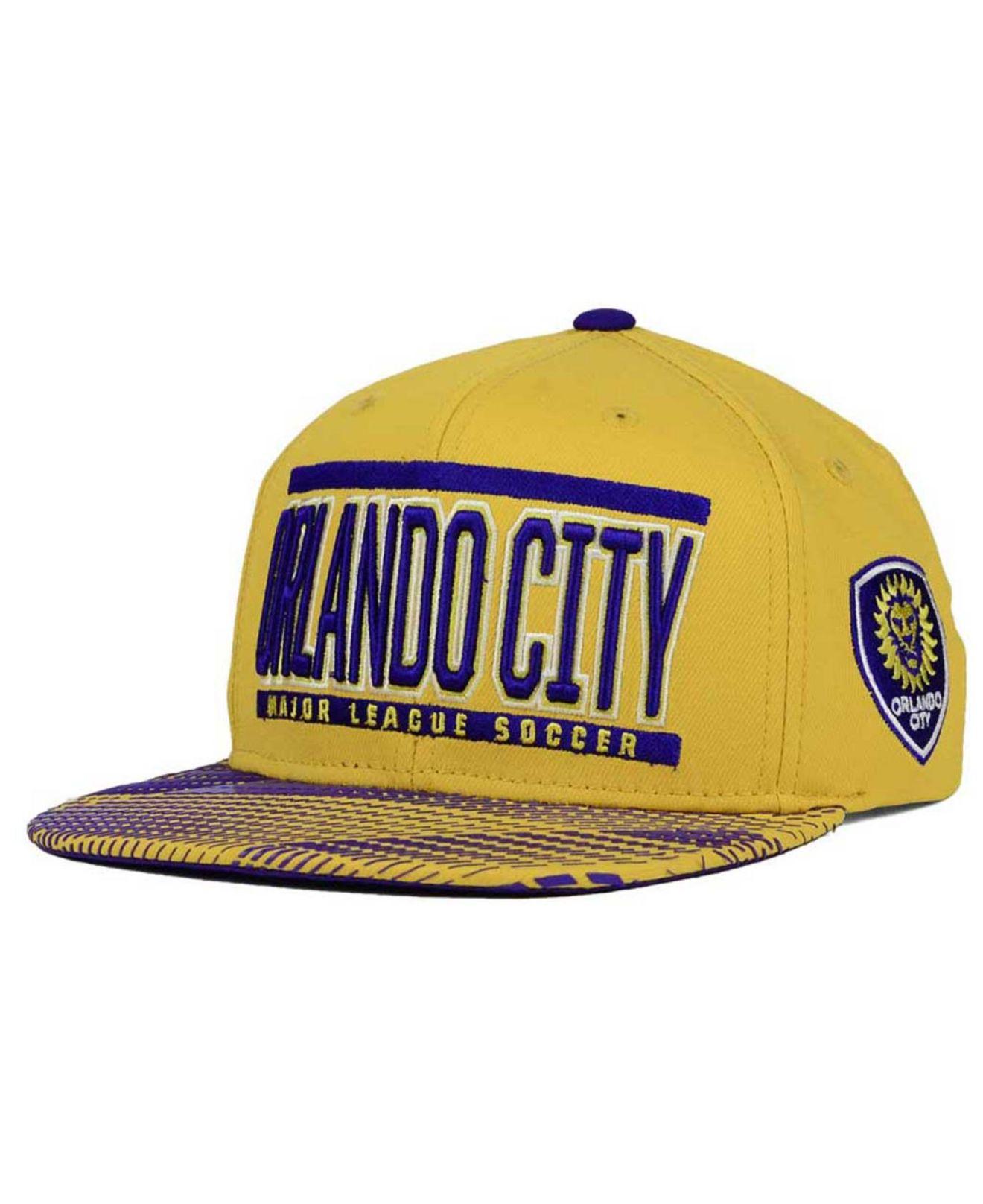 5cf64efa29f7 Lyst - Adidas Originals Orlando City Sc Evolution Snapback Cap in ...