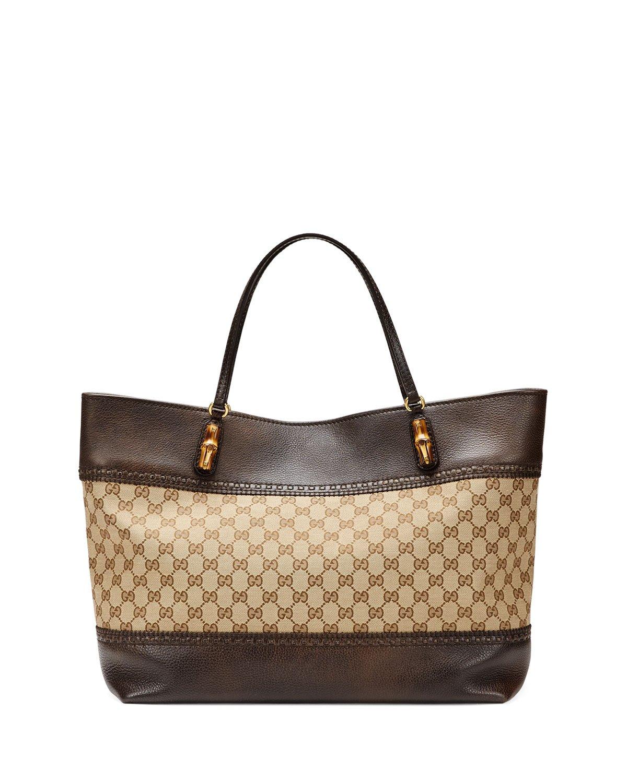 Gucci Laidback Crafty Original Gg Canvas Tote Bag in Brown ...