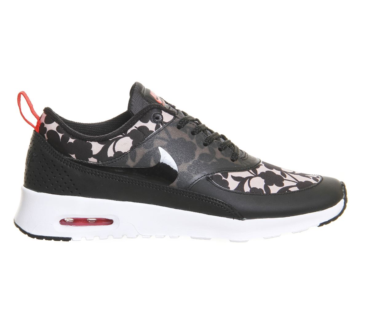 Lyst Nike Air Max Thea Floral Print Low Top Sneakers In Brown